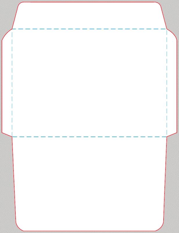 Английский конверт как сделать