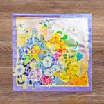 Рекалманя открытка с платком для теплого ветра