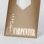 Золотое тиснение на упаковке