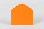 Конверт из дизайнерской бумаги оранжевый