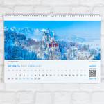 Замок Нойнванштейн на календаре Airpano
