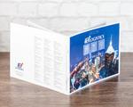Буклет 420х210 на скрепке для логистической компании