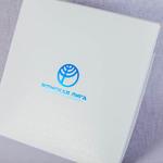 Упаковка для платка с тиснением Женская лига
