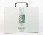 Папка-портфель из дизайнерской бумаги