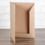 папка из крафт картона