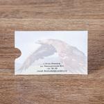 Оборот конверта для подарочного сертификата