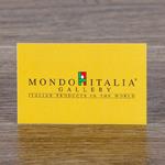 Визитка Итальянского ресторана