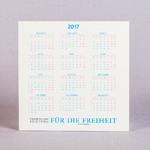 Календарь домик с замочком