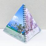 Календарь перекидной в форме пирамидки