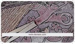 purple-scissors