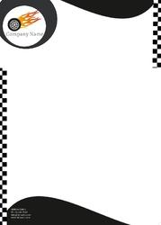 car-race-champion-letterhead