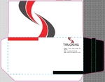 K-32 красно-черный конверт