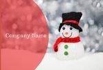 новый год снеговик