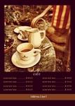 меню кофе кофейня