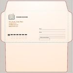 школа курсы почтовый конверт с индексом