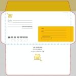 магазины почтовый конверт с индексом
