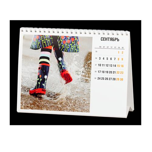 настольный перекидной календарь под квадратное фото инстаграмм