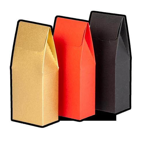 Коробка-сундучок из дизайнерского картона