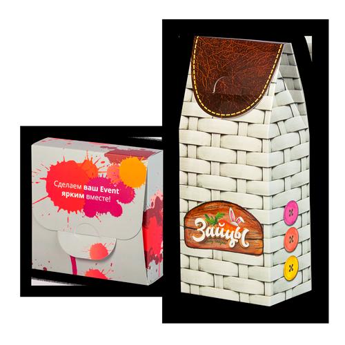 коробка сундучок и самосборная с замком