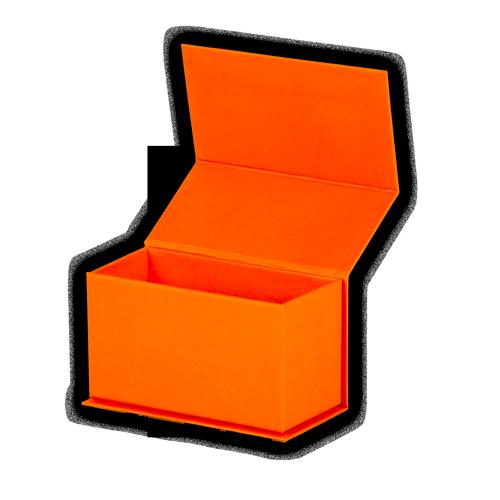 коробка на магнитах для хранения визиток