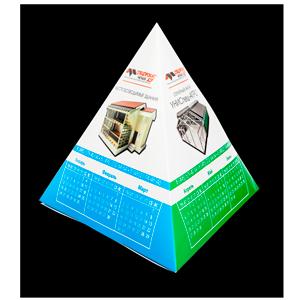 календарь пирамидка
