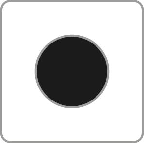 чёрный 15 мм
