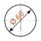 60 мм, арт. S-39