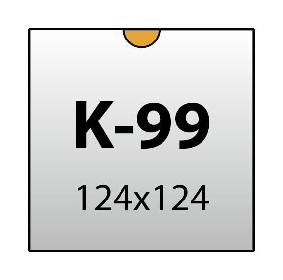 Конверт 124x124 арт. K-99