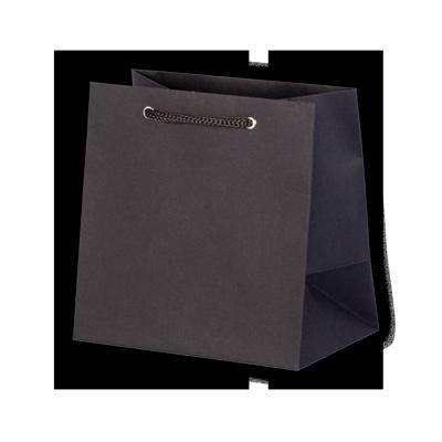 Пакет 140х140х90 мм, черный эфалин