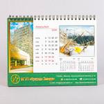 Настольный календарь с большим рекламным полем