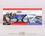 информационный флаерс из плотной бумаги 300 г/м2