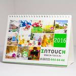 Обложка настольного перекидного календаря Intouch