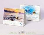 Календарь настольный перекидной А5 с горизонтальными картинками