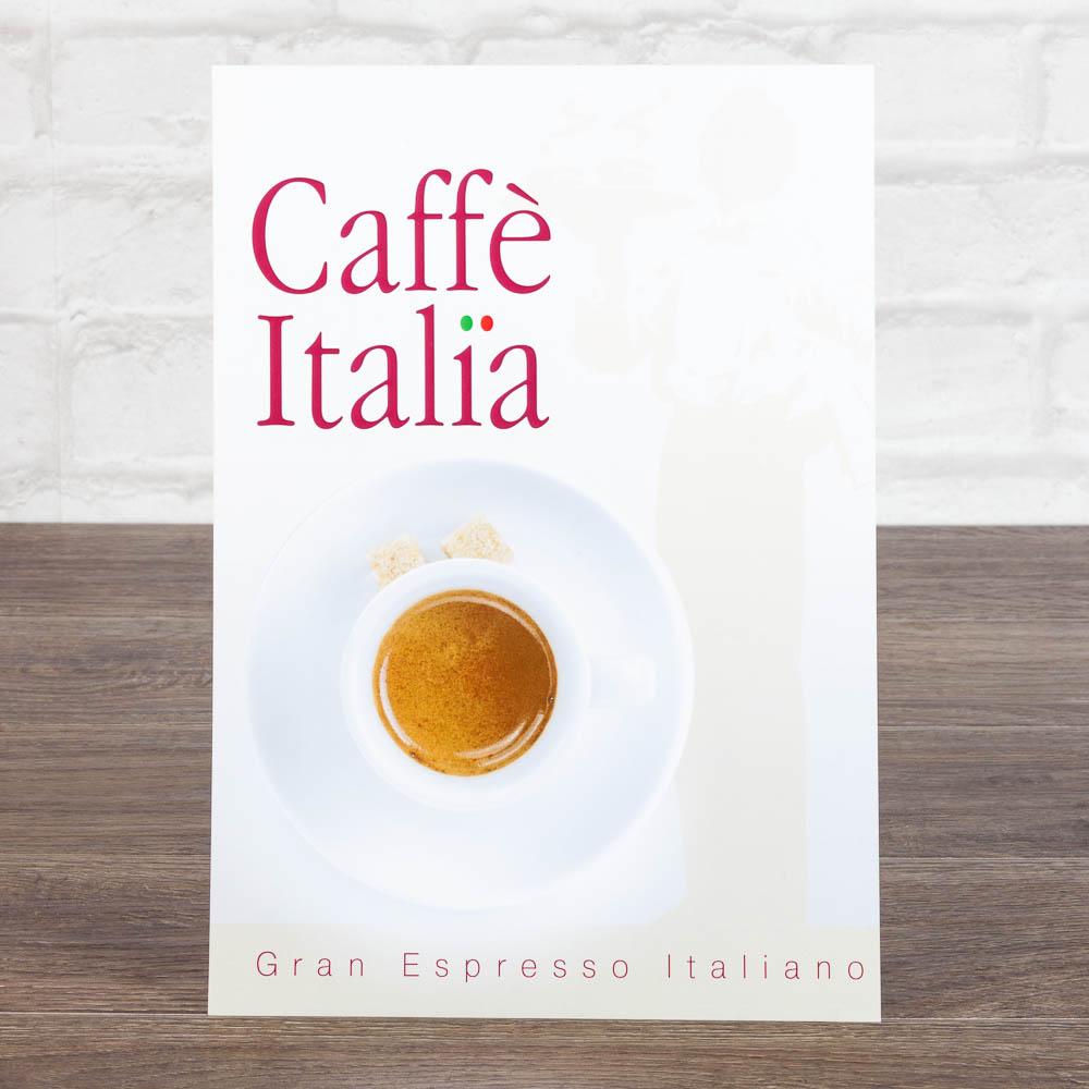 Листовка А4 для итальнского кофе