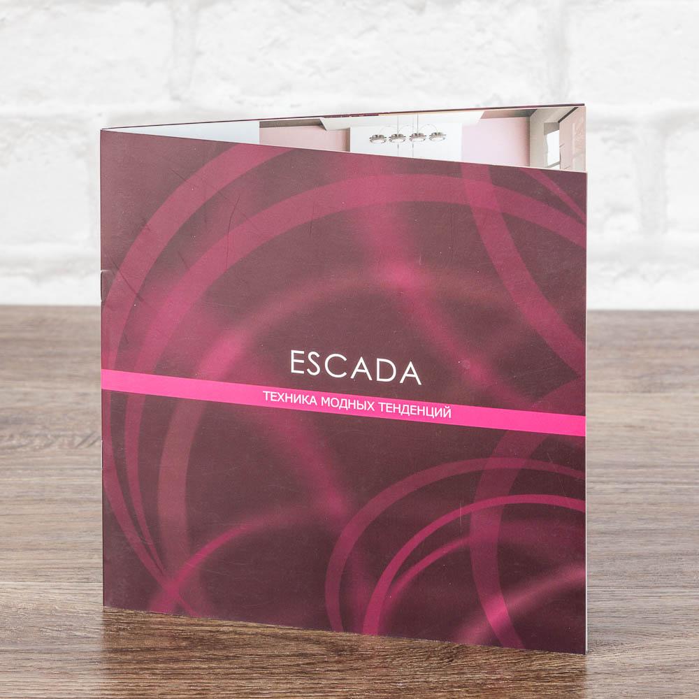 Буклет квадартный 210х210 ESCADA