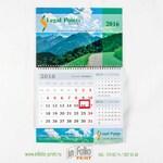 Календарь три в одном с бегунком