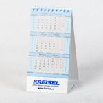 Настольный деловой календарь с квартальной сеткой