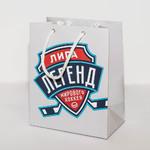 Пакет из ламигированной бумаги 50 штук с логотипом