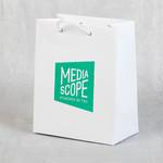 Бумажныйц пакет с ламинаицей 150х185х85 мм