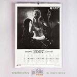 Настенный календарь А2 ч/б
