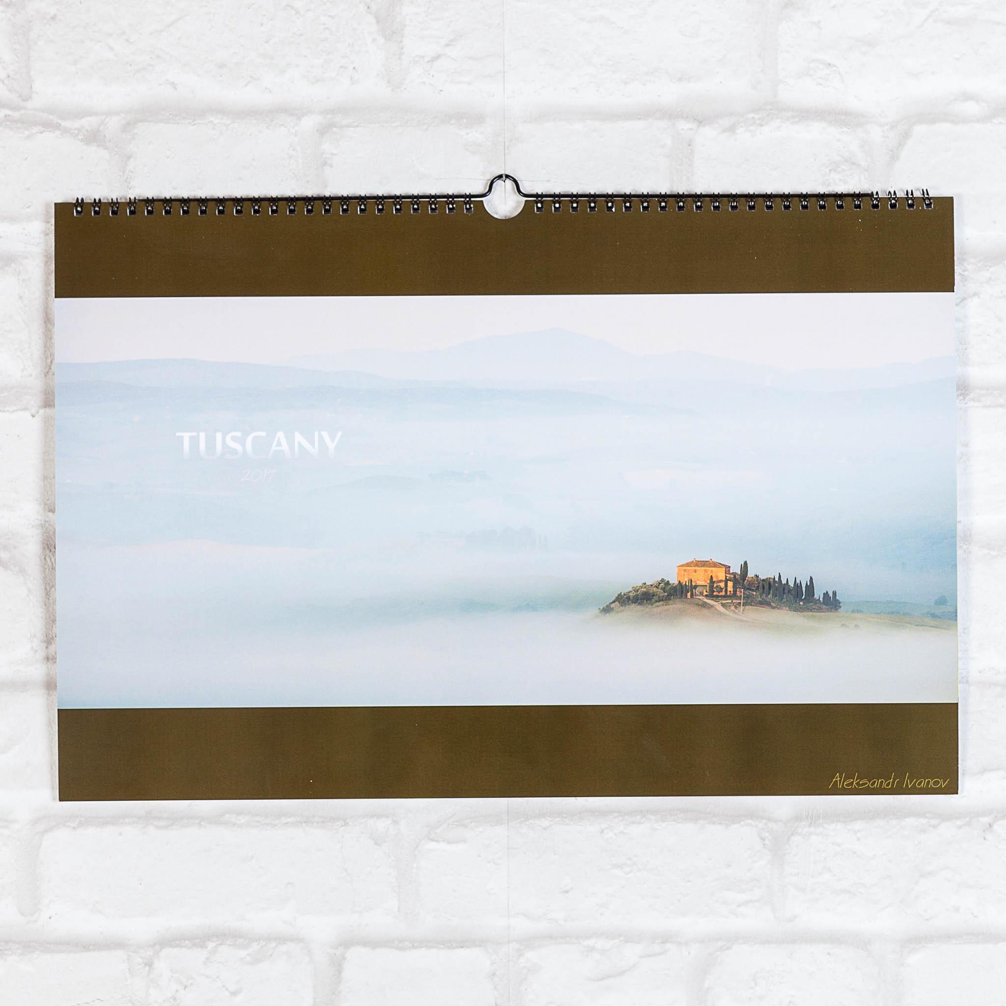 Обложка календаря Тоскана Александр Иванов