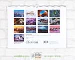 Задний лист календаря со всеми картинками, пример