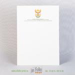 Бланк для африканского посольства