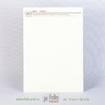 Бланк на дизайнерской бумаге айвори