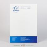 Фирменный бланк на офсетной бумаги 100 г/м2