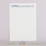 фирменный блан на офсетной бумаге 100 г/м2