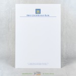 Фирменный блан банка на супер белой бумаги DNS Premium
