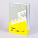 Программа концерта Юрий Симонов. Буклет А4 с матовой ламинацией.