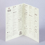 Барное меню пивного ресторана А4