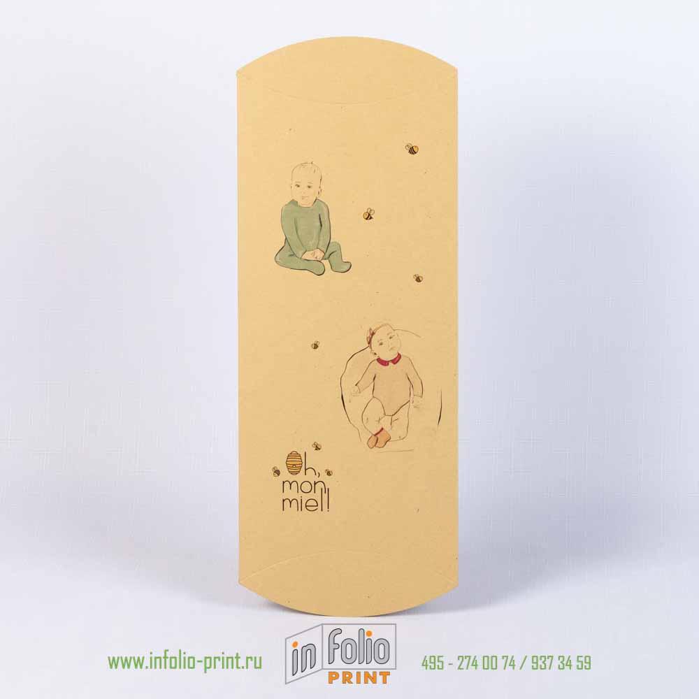 коробка-пирожок для детской одежды